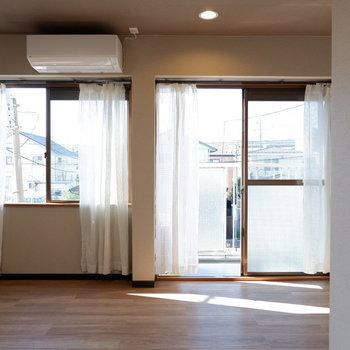 大きな窓からたっぷりの光を。※写真は前回募集時のものです