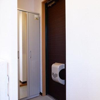 玄関スペースも十分。※写真は前回募集時のものです