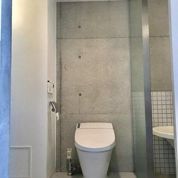 スッキリとしたトイレ