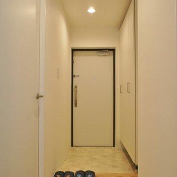 玄関も温かい雰囲気♡※写真は前回募集時のもの