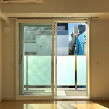 2重窓になっていて防音対策