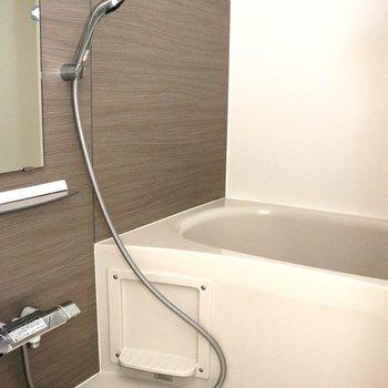 洗い場の広いお風呂場