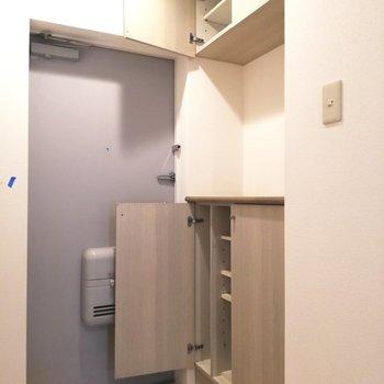上部にもあるんです、収納が※写真は5階反転間取り別部屋のものです