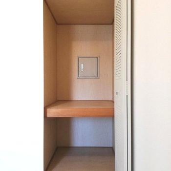 【洋室①】収納もしっかりと※写真は5階の同間取り別部屋のものです