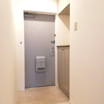 行ってらっしゃいの声が聞こえてくる♪※写真は5階の同間取り別部屋のものです