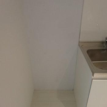 冷蔵庫置き場もきちんとあります※写真は前回募集時のものです。