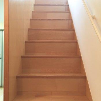 それではお待ちかねの2階へ。