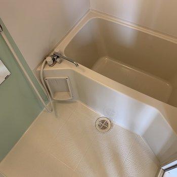 お風呂は爽やかなイメージ。