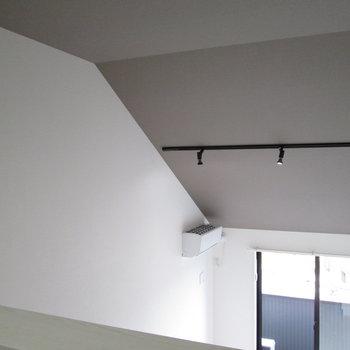 最上階ならではの屋根のカーブもなんか良い◎