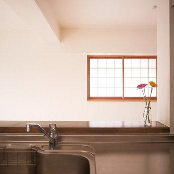 キッチンは対面式