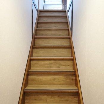 2階へ行きましょう〜