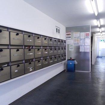 1階メールボックス