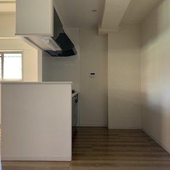 キッチンスペース広めです。