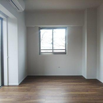 換気もしやすそうです。※写真は3階の同間取り別部屋のものです