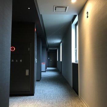 共用部はホテルのよう。