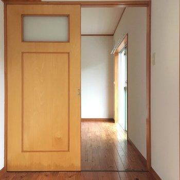 ドアの感じもキュートでしょ?