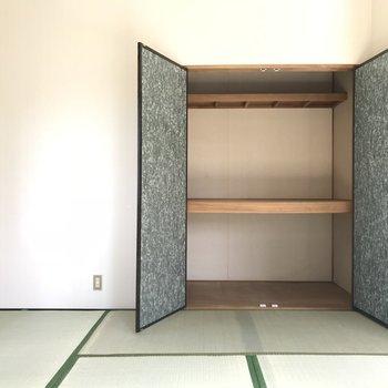 さすが和室収納おおきい♬※写真は1階の同間取り別部屋のものです。