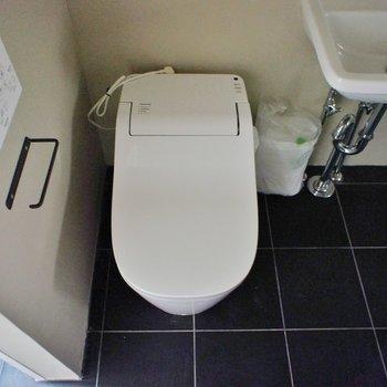 タンクレスのスタイリッシュなトイレ!※写真は前回募集時のものです