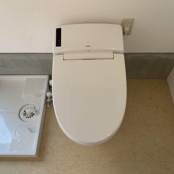 トイレはウォシュレット付き。 ※写真は前回募集時のものです