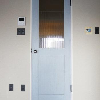 ドアもコンセントも細かい部分までおしゃれ