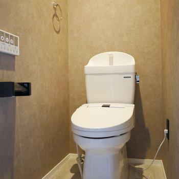 トイレもおしゃれな空間