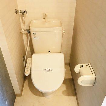 トイレも脱衣所と一緒※写真は同間取り別部屋です