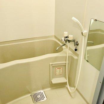 お風呂はシンプル!※写真は同間取り別部屋です