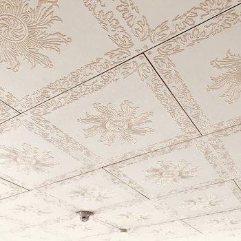 天井だって可愛いでしょ?