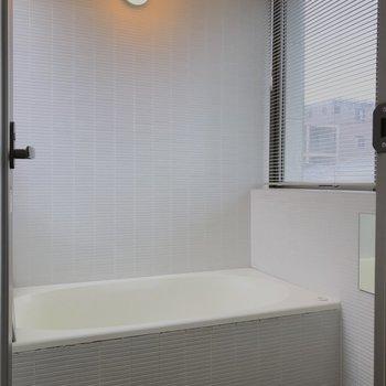 バスルームはこちら