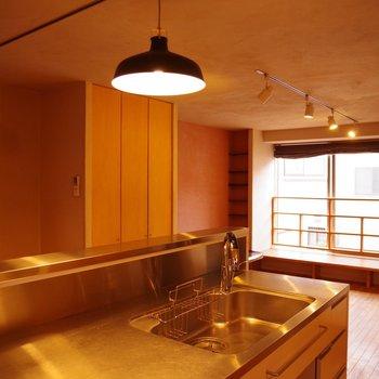 【LDK】キッチンからの眺め