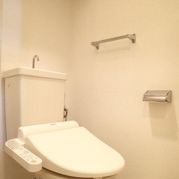 トイレはしっかり個室です※写真は9階の同間取り別部屋のものです