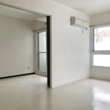 シンプルで家具も選びやすい!