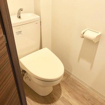 トイレは落ち着く感じ◎