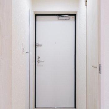 では最後に玄関の収納を。