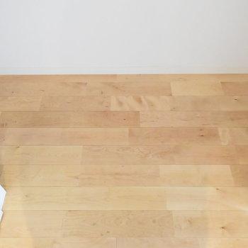 【収納】中身も無垢床なんて贅沢〜※写真は工事直後のもの
