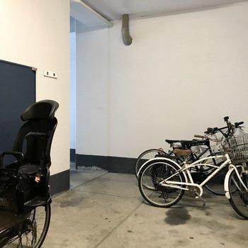もちろん駐輪場付き!