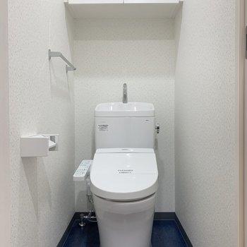 トイレも落ち着く広さがあります
