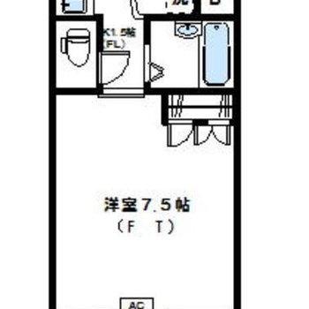 最上階のお部屋です◎