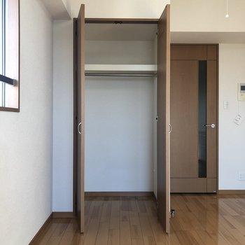 1人暮らしにはこれくらいでいいかな。※写真は10階の同間取り別部屋のものです