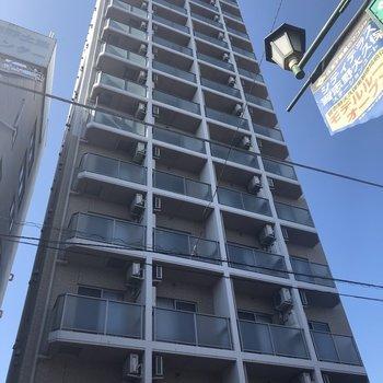 細長い〜建物