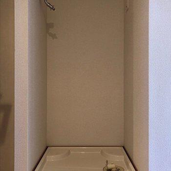 防水パンもしっかり付いていますよ◎※写真は10階の同間取り別部屋のものです