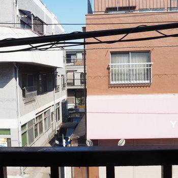 窓からの景色は、、、