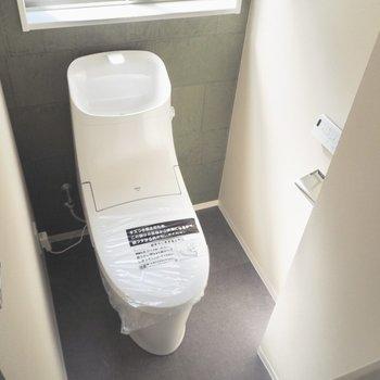 トイレには窓があるため、換気もできますね