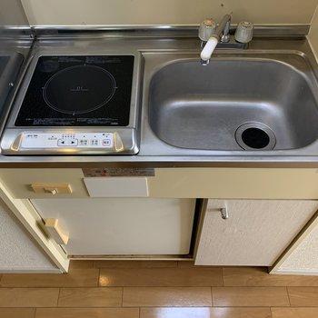 洗い物がしやすそうなシンク