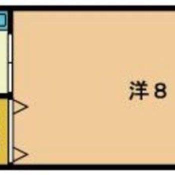 キッチンと洋室が分かれているのが嬉しい◎