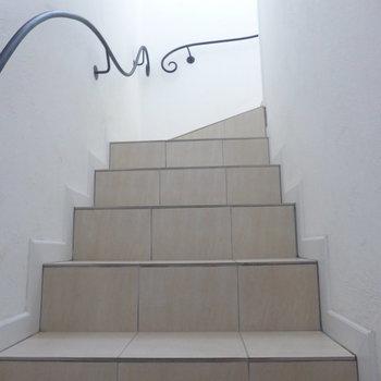 共有部階段はメルヘンな感じ◎