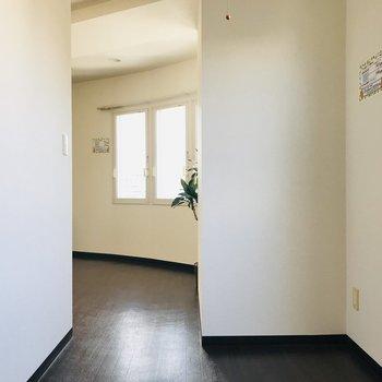 扉がないのであんまり圧迫感がない!※同間取り別部屋です