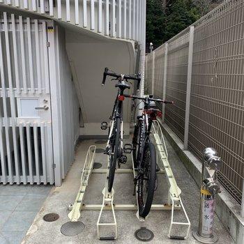 駐輪場あると嬉しい!