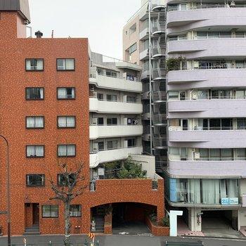 眺望はマンションです