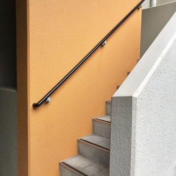 【共用部】エレベーターの途中に階段もあります◎